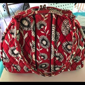 Vera Bradley Vintage snap Top Bag